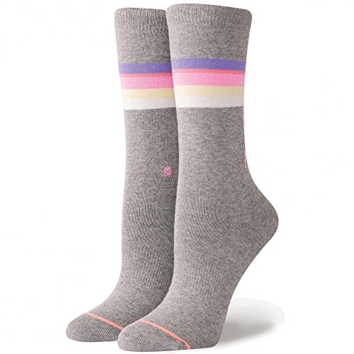Stance Mega Babe Tomboy Socks, Grey - Women's Socks