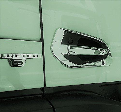 Preisvergleich Produktbild Edelstahl VNVs Türgriff Lünette Dekorationen Fit für Mercedes Actros MP4 Chrome 2016