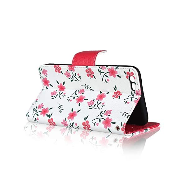 FAWUMAN Case for iPhone 6s /iPhone 6 with Lanyard Premium Flowers PU+TPU Flip Case Wallet Card Slots Mobile Phone Case with Stand Function,Magnetic Closure Protective Case-Red FAWUMAN 1. Compatible model - especially for iPhone 6s /iPhone 6. Before ordering, please choose the right model of the case. 2. Premium Material: Using high quality durable PU leather +TPU outer case, with high quality material lining to avoid scratches and avoid risk of damage to your when dropped. 3.Case offers card slots for credit cards, ID, business cards and cash, cash receipt and invoices. Ideal for festivals, parties or the night at the club. 3