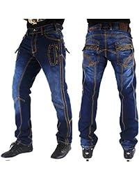 2ac19e5014 Peviani True Hombre Jeans Skinny Recto Indigo Azul Star Urban Designer Jeans  Hip Hop G Jeans