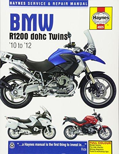 BMW R1200 Dohc Motorcycle Repair Manual (Haynes Service and Repair Manual) por Haynes Publishing