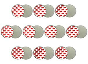 10x magnethalterung rauchmelder magnetbefestigung magnet halterung feuermelder baumarkt. Black Bedroom Furniture Sets. Home Design Ideas