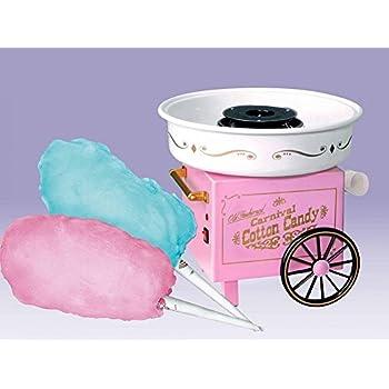 VelVeeta Vintage Cotton Sugar Free Candy Maker (Pink and White)