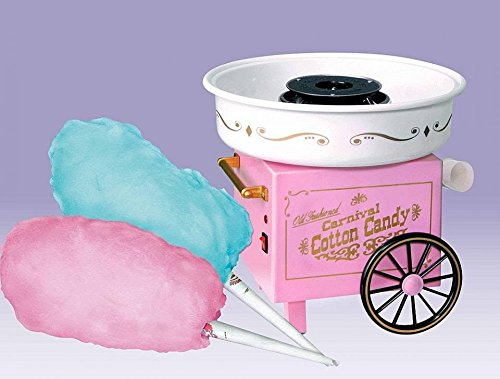 Krevia Vintage Collection Hard & Sugar-Free Candy Cotton Candy Maker
