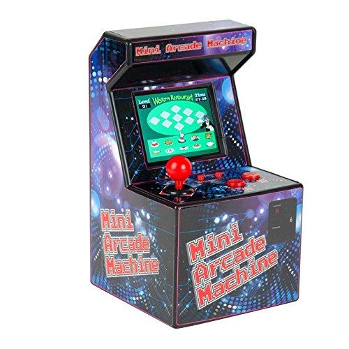 Mini Arcade Machine Spielkonsole mit 240 Spielen - Retro Spielautomat Spielzeug Joystick