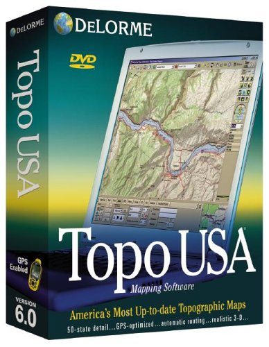 Topo USA 6.0 National DVD Topo-mapping-software