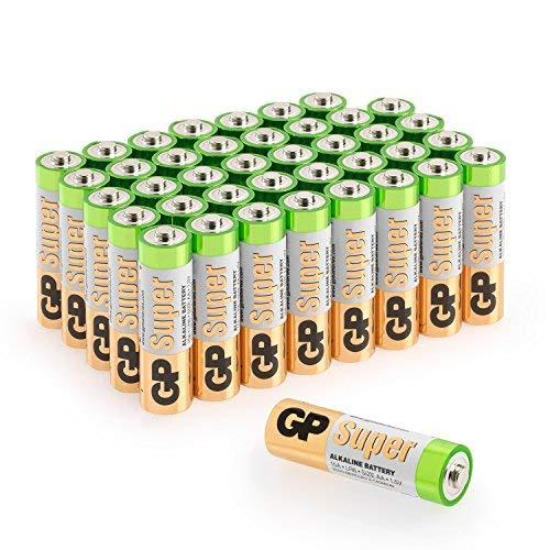 Batterien AA Mignon GP Super Alkaline Vorratspack 40 Stück in praktischer