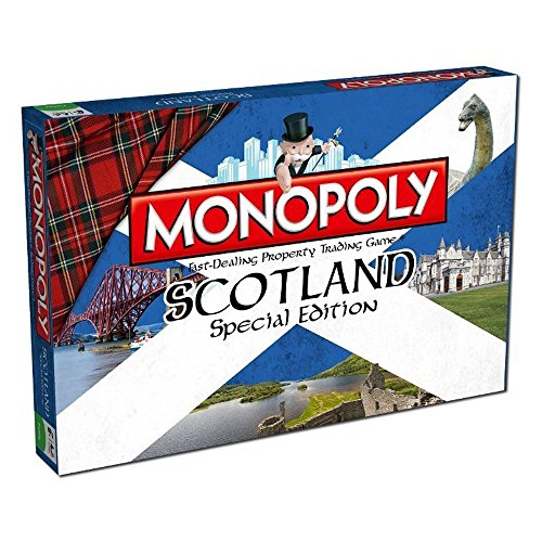 Winning Moves Scotland Monopoly Board Game by Winning