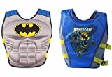 #2: Wishkey Swimming Adjustable Life Jacket Vest Super Hero Character Floating Belt Water Sports Pool Accessories Swimming Training Buoyancy Float for Kids 3 to 8 Years