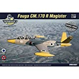 IAF Fouga CM. 170 Magister - Israel/Lebanon. The kit contains: - TWO unassembled plastic model kits from Kinetic, - Detailed and