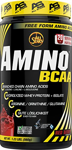 All Stars Hyper Amino BCAA Pulver, Red Berry