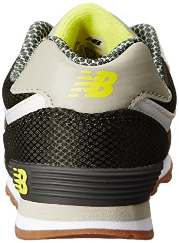 New Balance KL574 Expedition Running Shoe (Infant/Toddler) Green/Yellow