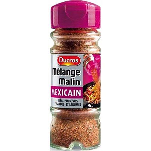 Ducros Flacon duc les mélanges cuisinez à la mexicaine 40g - ( Prix Unitaire ) - Envoi Rapide Et Soignée