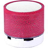 Drumstone A9 Smart Led Crack Mini Portable Bluetooth Speaker Supported Tf Card/USB Flash Drive/Fm For Mi Redmi Note 5, IPhone 8 Mobile