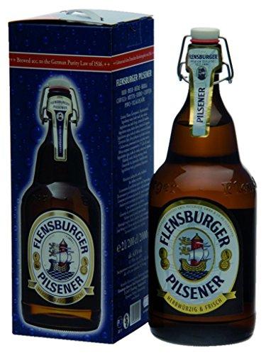 flensburger bier Flensburger Pilsener Mega Plop Bier 4,8% 2,0L