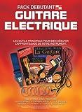 In A Box Pack Débutant: Guitare Electrique - Partitions, CD, Vidéo (PAL), Accessoire