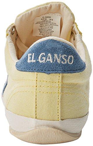El Ganso Herren Match Washed Classic Ribbon Fitnessschuhe Amarillo (Limoncello einfarbig)