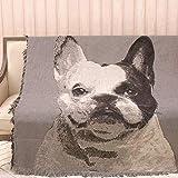 AFAHXX Dekoration Sofa Überwürfe,Caterpillar Verdickt Baumwolle Sofahusse sofaüberwurf Decke zu werfen-A 160x220cm(63x87inch)