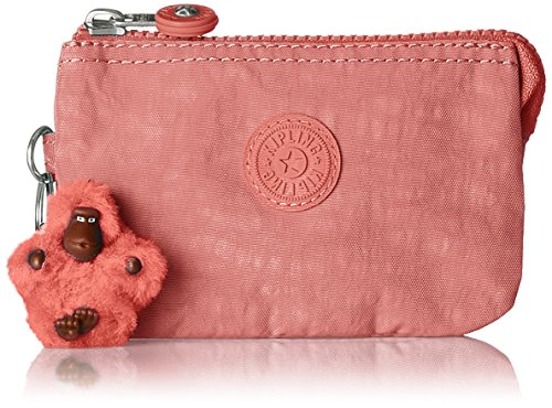 Kipling Creativity S, Porte-monnaie femme, Rose (Dream Pink), 5x14.5x9.5 cm (B x H T)