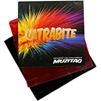 Ultrabite Tischtennis Gummi von muzitao (2 Stück, 1 x rot + 1 x Schwarz) Tischtennisschläger Ersatz-radierern