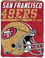 Northwest Couverture Ultra Plush NFL San Francisco 49ers