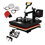 Best T-shirt Heat Presses - FORAVER 5 In 1 Heat Press Machine 15x15 Review