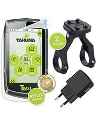 Teasi One 3 eXtend GPS inkl. Dual Fahrradhalterung + Schutzfolie + Netzstecker