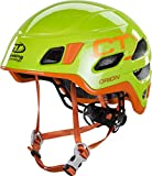 Climbing Technology Orion 6X94209AB1CTSTD Casco, Verde/Arancio, L/XL