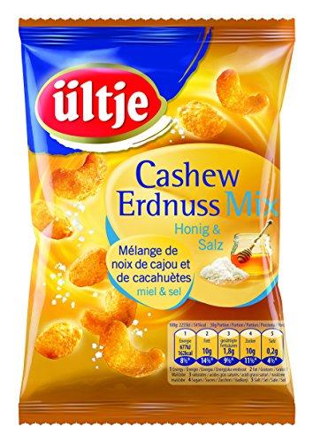 ültje Cashew-Erdnuss-Mix mit Honig und Salz, 4er Pack (4 x 200 g) (Und Salz Honig)