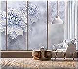 Apoart papier peint Peinture murale sur fond marbré de fleurs créatives peintes à la main 200X140cm(78.74 * 55.11in)