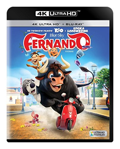 Ferdinand [Blu-Ray 4K]+[Blu-Ray] [Region Free]