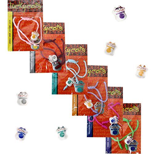 6-units-bracelet-brsilien-chat-agitant-lucky-cat-maneki-neko-partie-encaustique