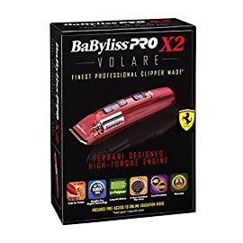 volare clipper - 5143f9BQ4xL - BaByliss Red Pro X2 Volare Clipper