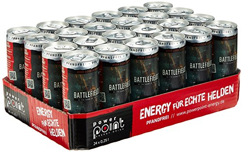 Power Stress Energy Drink Classic, 24er Pack (24 x 250 ml)