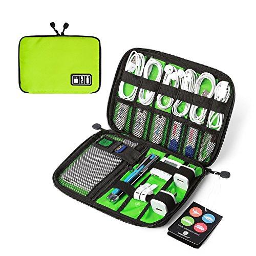 BAGSMART Electronics Accessori Universale Cavo Organizzatore Organizza Cavi Viaggio Organizzatore