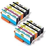 Gohepi Ersatz für HP 364 364XL Druckerpatronen Hohe Kapazität Kompatibel mit HP OfficeJet 4620 4622, HP Photosmart 6520 5510 7510 5524 6510 5515 5520 C5380, HP Deskjet 3070A 3520 3524 3522