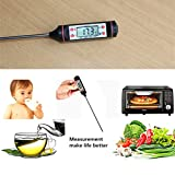 Digital Kochen Lebensmittel Thermometer Probe LCD Temperatur Instant Lesen Thermometer Detektor für Küche Backen Fleisch Steak Grill Barbecue Milch