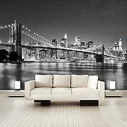 PHOTO WALL MURAL ,,I Love NewYork 105' 366cm x 254cm Manhattan USA Skyline NEW!