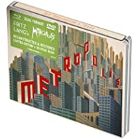 Metropolis [Reconstructed & Restored] (Masters of Cinema) Limited Edition Dual Format Steelbook