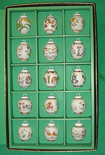 -Eier Set 1985-1999 * Rarität, Osterei, Ei, Ostern, Frühling, Anhänger, Osterschmuck ()