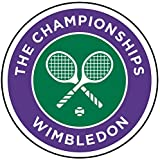Wimbledon Tennis Tournament (Badge/Magnet/Schlüsselanhänger Flaschenöffner) (Schlüsselring Flaschenöffner (58mm)), Keyring Bottle Opener (58mm), Magnet (58mm)