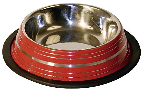 Kerbl-Stainless-Steel-Bowl-Coloured-200-ml