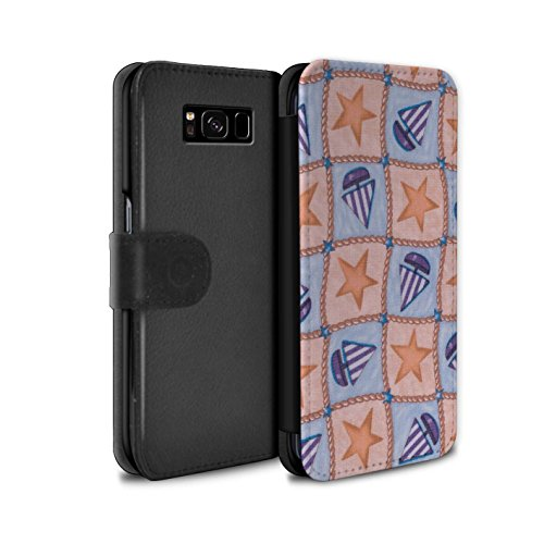 stuff4-pu-leather-wallet-flip-case-cover-for-samsung-galaxy-s8-g950-peach-purple-design-boat-stars-p