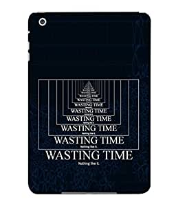 PrintVisa Time Is Money 3D Hard Polycarbonate Designer Back Case Cover for Apple iPad Mini Wifi :: Apple iPad Mini Wifi + Cellular (7.9 Inches)