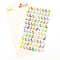 Super Cute Korean Stickers. Colourful Owls Or Bright Giraffes. Great for Scrapbooking
