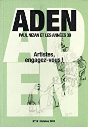 Aden, N° 10, octobre 2011 : Artistes, engagez-vous !