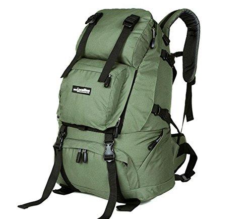 ROBAG Klettern Taschen outdoor-Touren Männer und Frauen reisen Rucksack Klettern Rucksack Rucksack army green