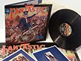 ELTON JOHN captain fantastic and the brown dirt cowboy WITH lyric booklet, comic strip booklet, poster, DJLPX 1