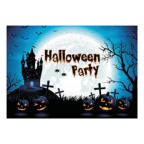 Halloween Party Einladungen-Pack von 10-Haunted House