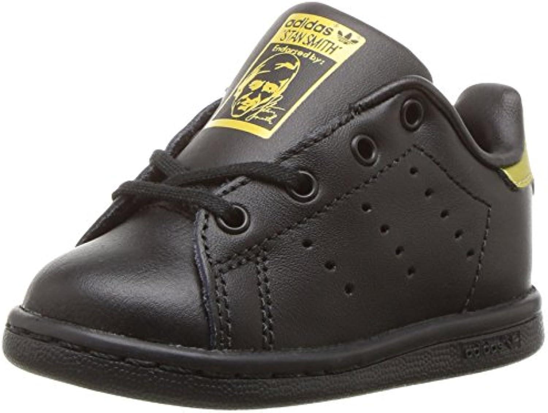adidas originaux filles stan smith je basket, noir / / écru / noir feuilles d'or, 4 m us bambin ebc839